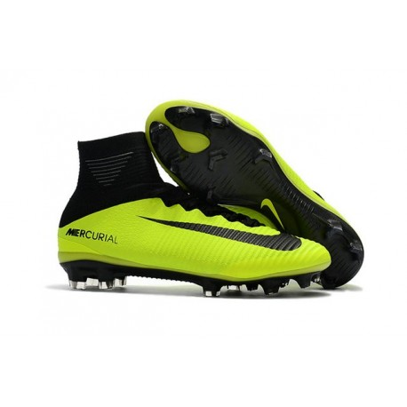 buy online 73fc6 23c82 News Nike Mercurial Superfly V FG Boots Yellow Black