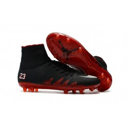 Nike Hypervenom Phantom 2 FG New Neymar X Jordan NJR Black Red