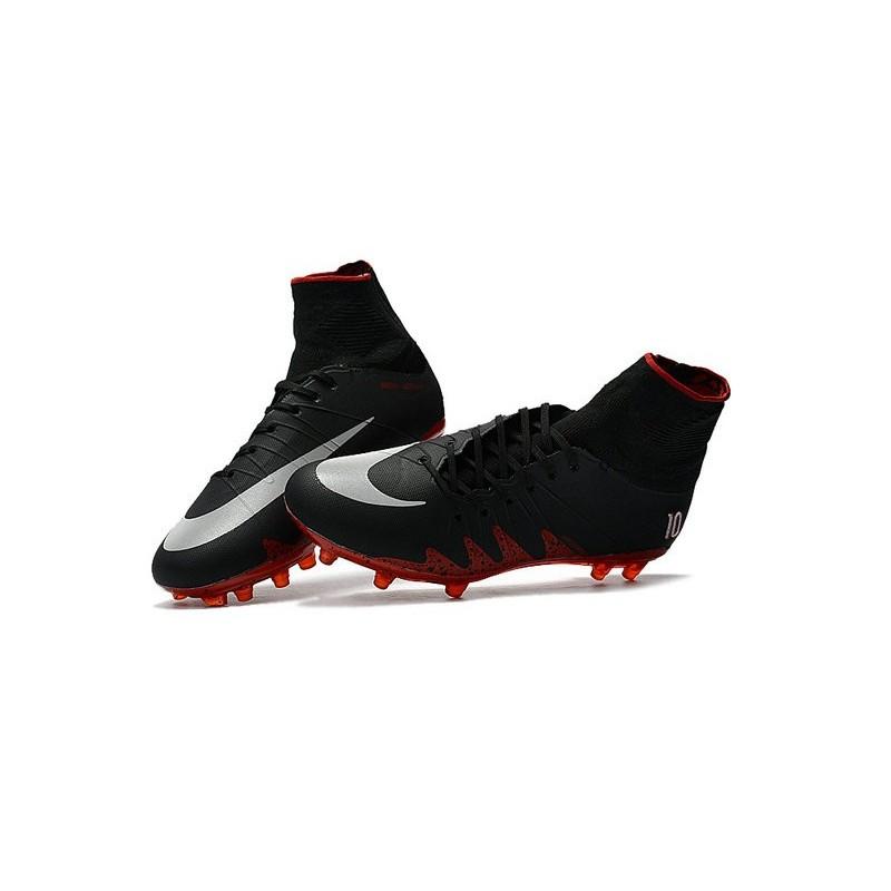 check out 89513 347ec Nike Hypervenom Phantom 2 FG New Neymar X Jordan NJR Black Red