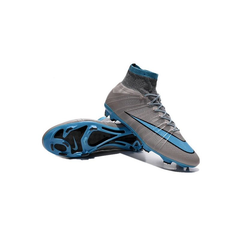 662fbcb09a4090 ... reduced new nike mercurial superfly cr7 fg firm ground cleats grey blue  20637 25bf8