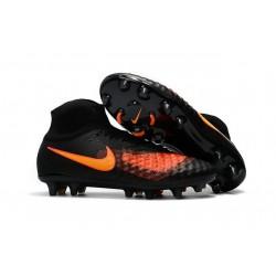 Nike Magista Obra 2 FG Men's Football Shoes Black Orange