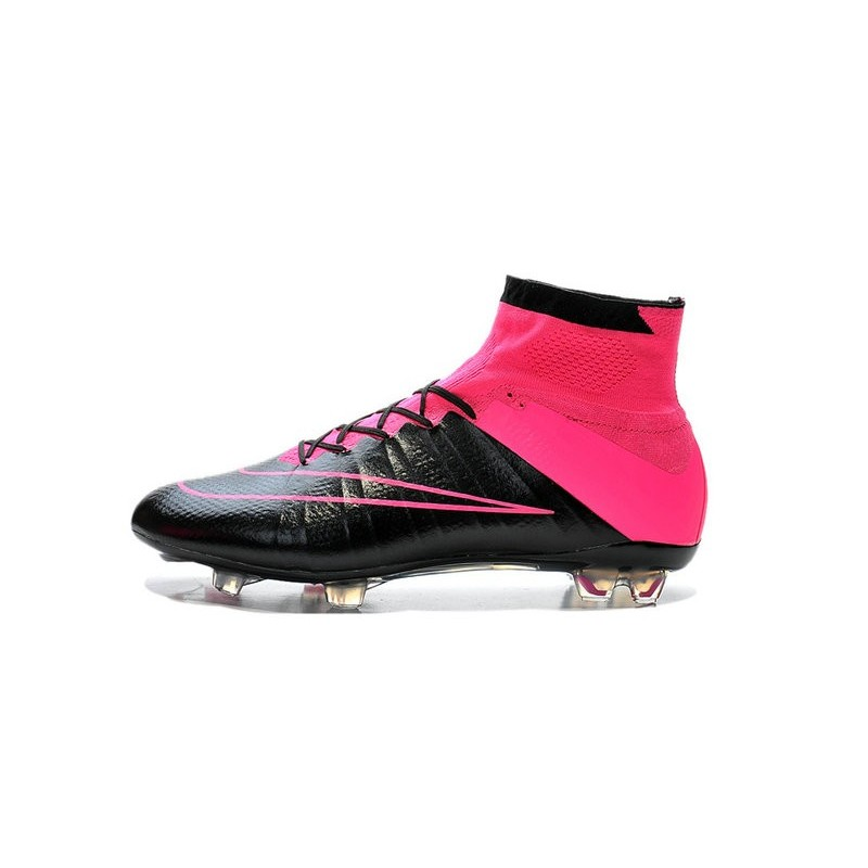 New Nike Mercurial Superfly CR7 FG Firm Ground Cleats Leather Black Rose 1d124721e5470