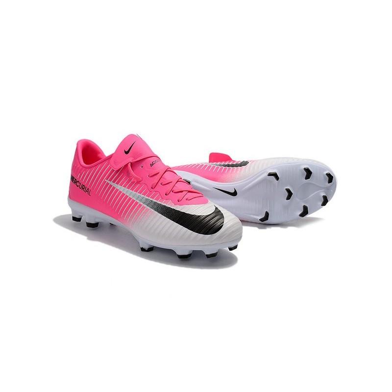 Indoor Soccer Shoes Nike Pink Black