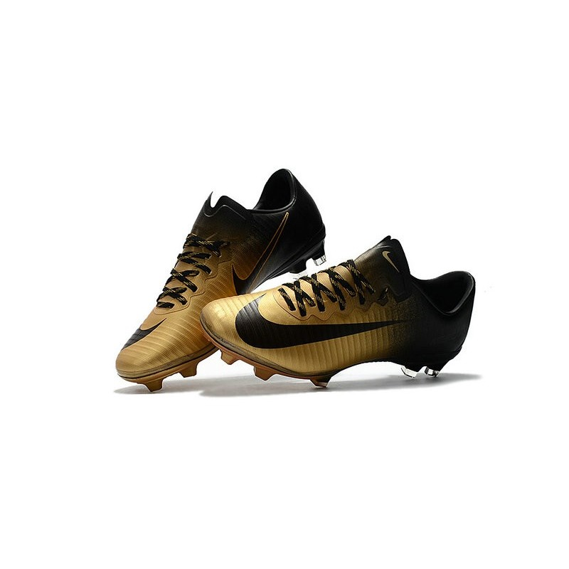 7028fd993f0 New 2017 Nike Mercurial Vapor XI ACC FG Soccer Boot Gold Black Maximize.  Previous. Next