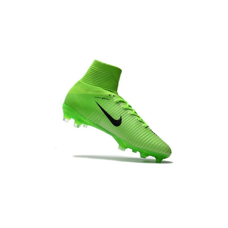 cafe311c9dc Nike Mercurial Superfly V FG Top Soccer Shoes Green Black Maximize.  Previous. Next