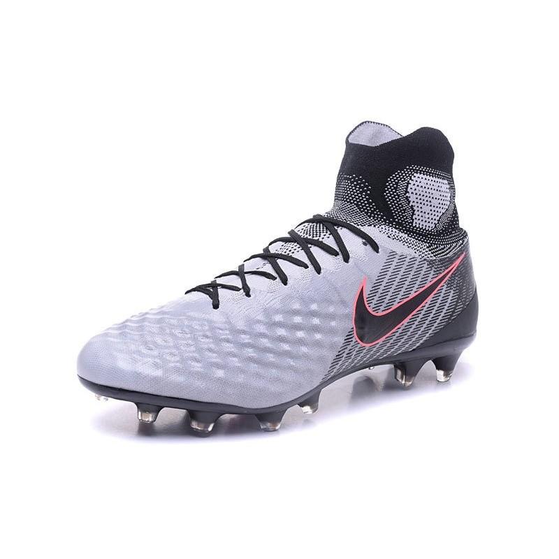 d30e6f13f2b3 Nike Magista Obra II FG News 2017 Soccer Boot Grey Black Maximize.  Previous. Next