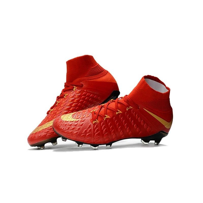 d6265b78b News Nike Hypervenom Phantom 3 DF FG Boots Red Gold Maximize. Previous. Next