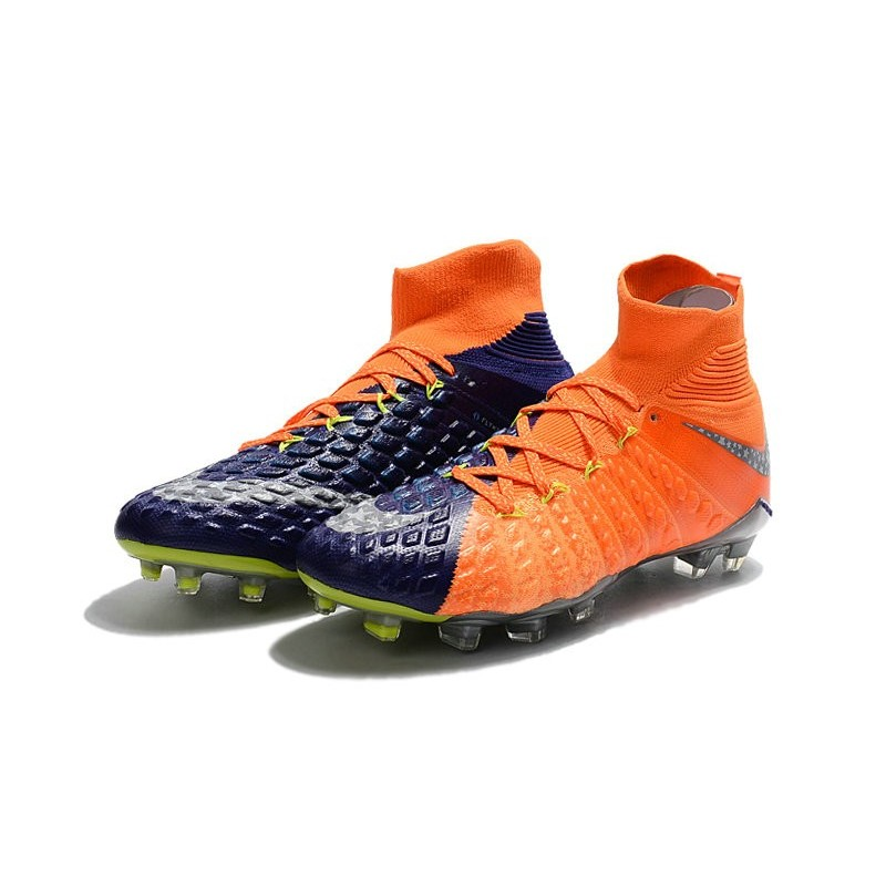 watch 627ba fa958 News Nike Hypervenom Phantom 3 DF FG Boots Blue Orange