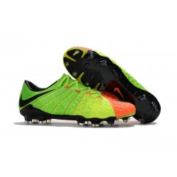 Nike Hypervenom Phantom 3 FG Low Cut Soccer Cleat - Citrus Green Orange