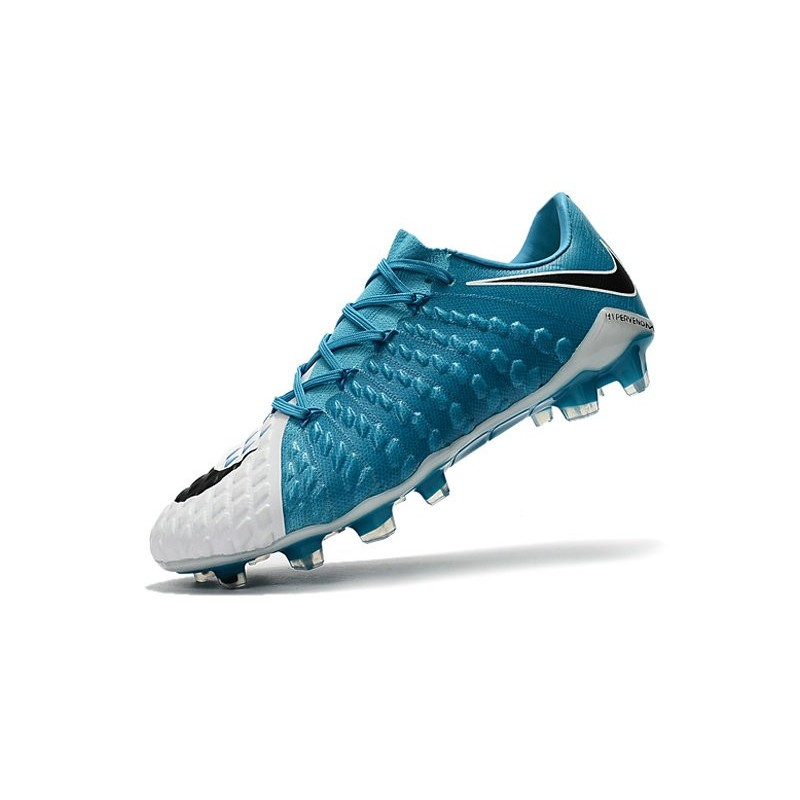 cheap for discount f54cc 67afb Nike Hypervenom Phantom 3 FG Low Cut Soccer Cleat Blue White ...