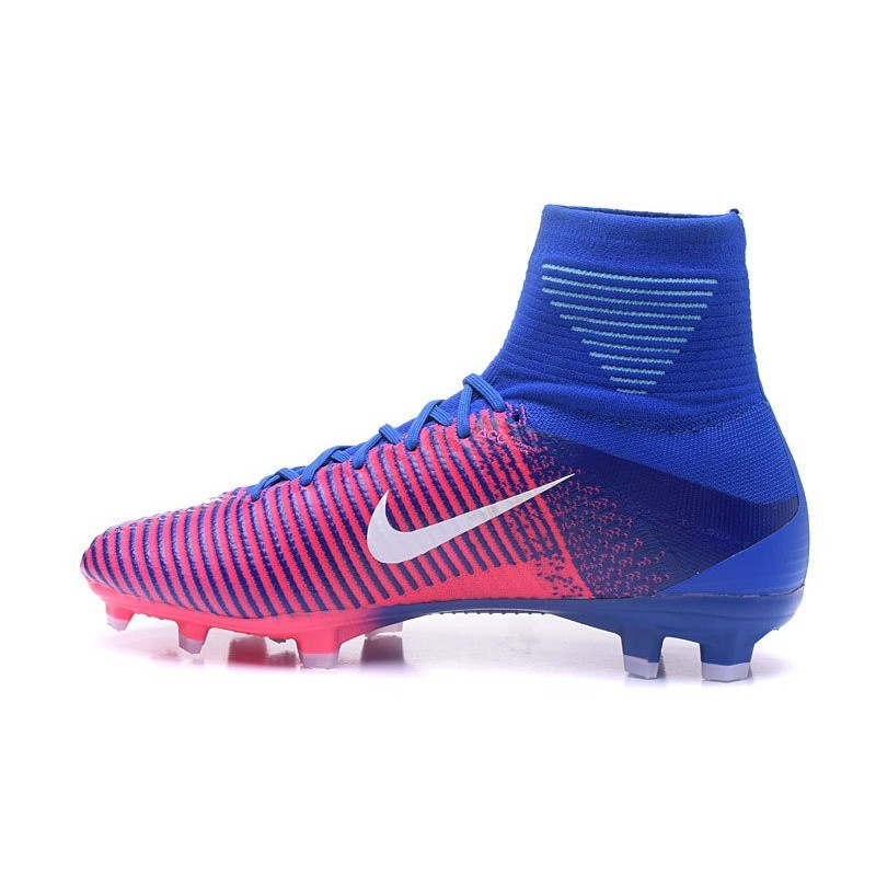 Nike Mercurial Superfly 5 FG 2017 New Firm Ground Boot - Pink Blue White  Maximize. Previous. Next