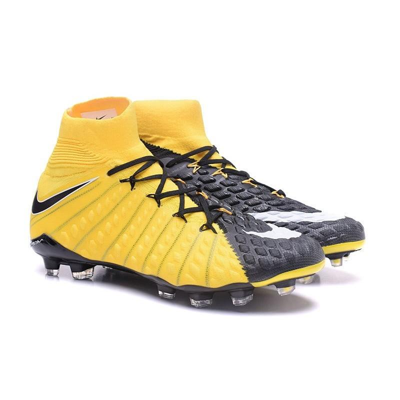aa65b964d News Nike Hypervenom Phantom 3 DF FG Boots Yellow Black Maximize. Previous.  Next