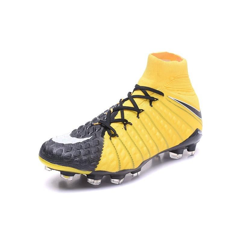 half off f600f ec25a News Nike Hypervenom Phantom 3 DF FG Boots Yellow Black