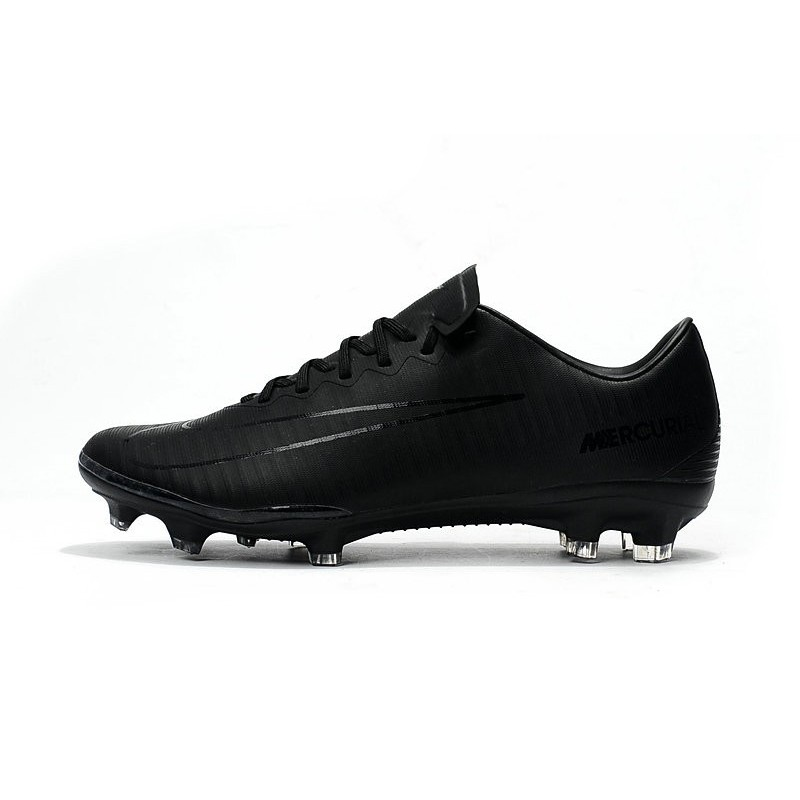 New 2017 Nike Mercurial Vapor XI ACC FG Soccer Boot Full Black Maximize.  Previous. Next