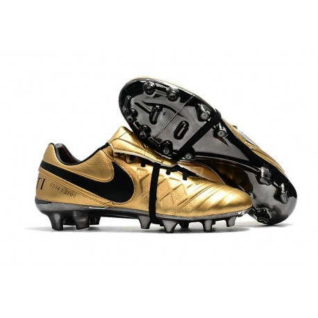 Nike Tiempo Totti X Roma Limited Edition Gold Soccer Cleats