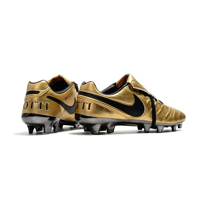 34c784968 Nike Tiempo Totti X Roma Limited Edition Gold Soccer Cleats Maximize.  Previous. Next