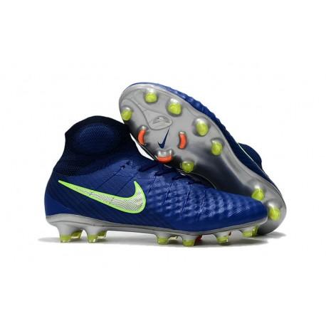 f0e70777b Nike Magista Obra 2 FG Firm Ground Football Cleats Royal Blue