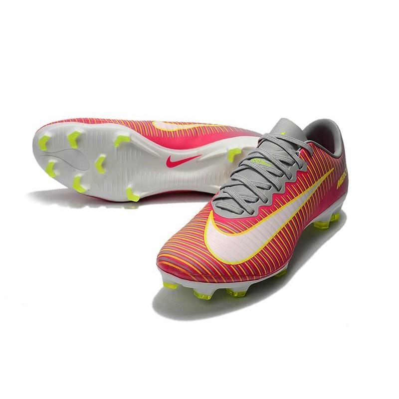 20428c4d7985 Mens Nike Mercurial Vapor 11 FG Football Shoes - Pink Gray Maximize.  Previous. Next