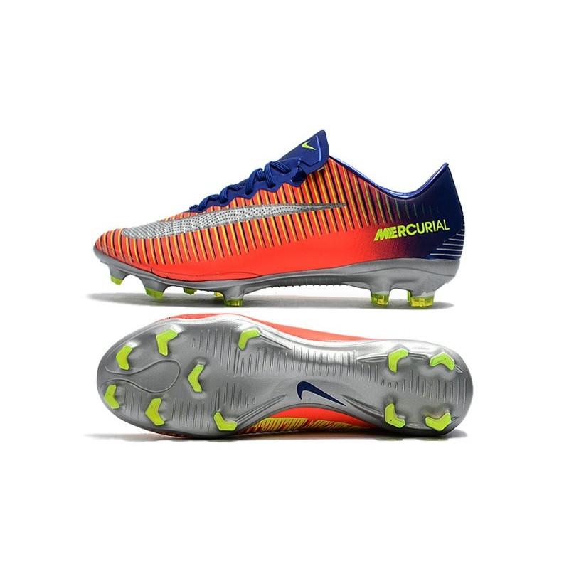 Mens Nike Mercurial Vapor 11 FG Football Shoes - Royal Blue Chrome Crimson  Maximize. Previous. Next f1f20e402