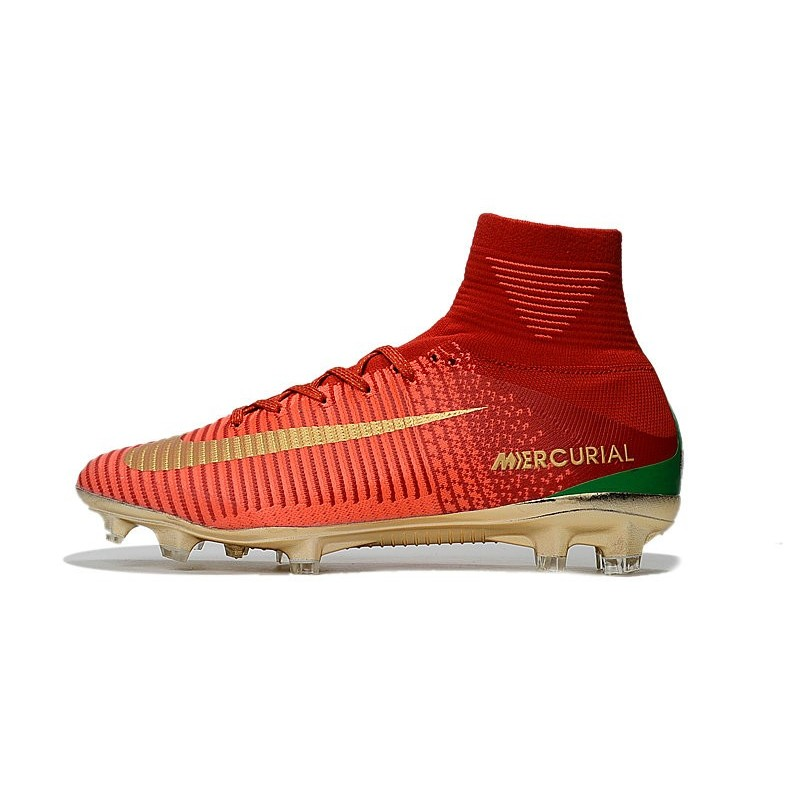 release date caa0f 05af3 Nike Mercurial Superfly 5 FG 2017 New Firm Ground Boot - Red