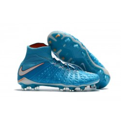 Nike Hypervenom Phantom III DF FG ACC 2017 Cleats - Blue White