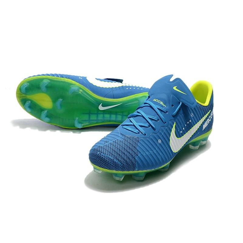 4837eb06f Neymar Nike Mercurial Vapor 11 FG Football Shoes - Blue White Maximize.  Previous. Next