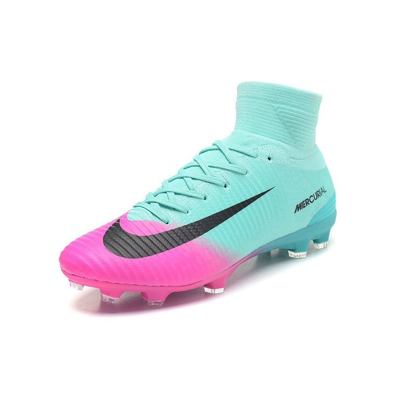 7c854eaec5dc Nike Mercurial Superfly V FG Mens Soccer Cleat - Blue Pink Maximize.  Previous. Next