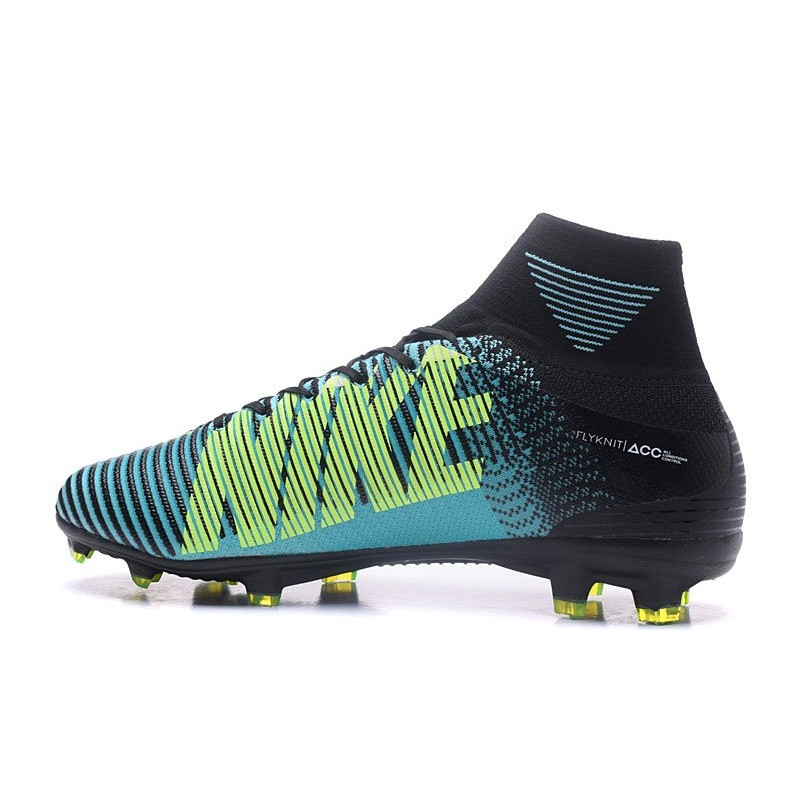 954cf6f4b939 ... aliexpress nike mercurial superfly v fg mens soccer cleat blue white  yellow maximize. previous.