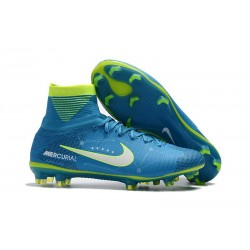 Nike Mercurial Superfly V FG Neymar Blue Soccer Cleat