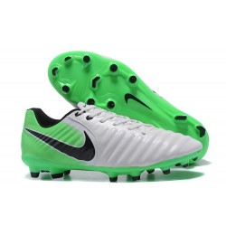 Nike Tiempo Legend VII FG K-Leather Soccer Cleats Green White