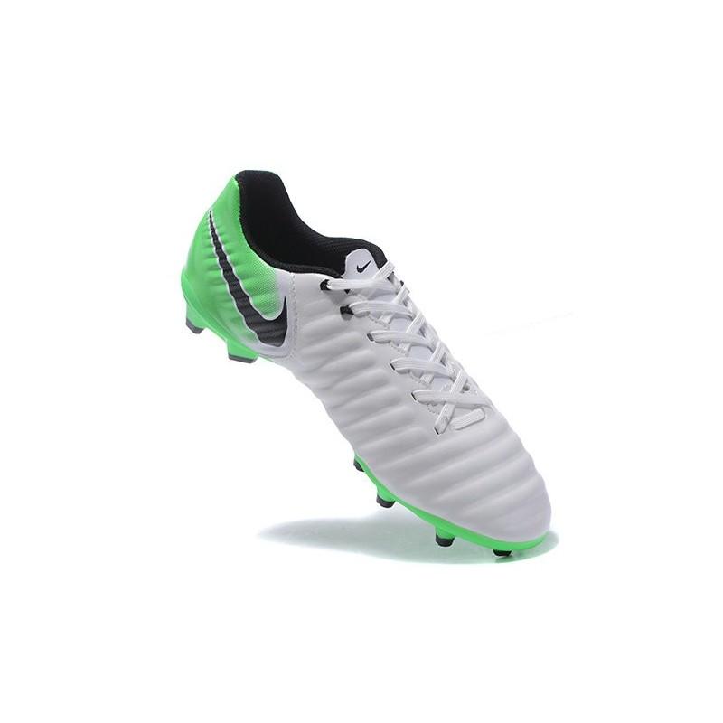 646c2047c Nike Tiempo Legend VII FG K-Leather Soccer Cleats Green White Maximize.  Previous. Next