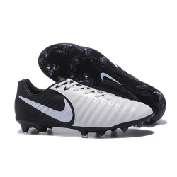 Nike News Tiempo Legend 7 FG Men Football Boot - White Black