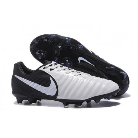 Nike News Tiempo Legend 7 FG Men Football Boot - White Black