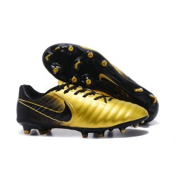 Nike News Tiempo Legend 7 FG Men Football Boot - Gold Black