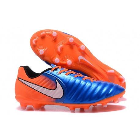 Nike News Tiempo Legend 7 FG Men Football Boot - Blue Orange