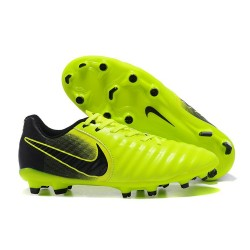 Nike News Tiempo Legend 7 FG Men Football Boot - Green Black