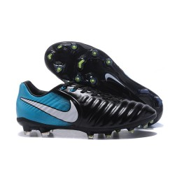 Nike News Tiempo Legend 7 FG Men Football Boot - Black Blue