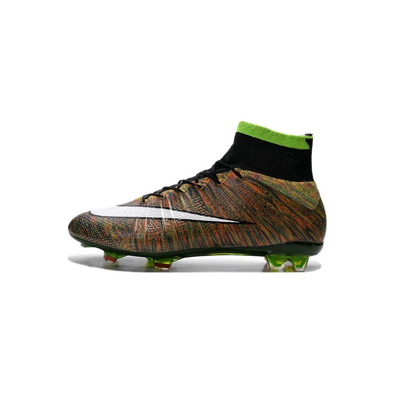 9bd6c7ae3 Nike Mercurial Superfly FG New Soccer Cleat Multi-Color White