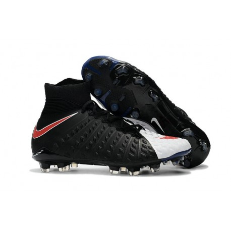 Nike Hypervenom Phantom III DF FG ACC 2017 Cleats - Black White