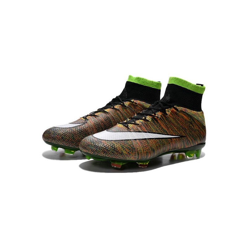 cd61551ba729 Nike Mercurial Superfly FG New Soccer Cleat Multi-Color White
