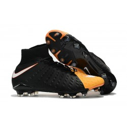 Nike Hypervenom Phantom III DF FG ACC 2017 Cleats - Black Yellow