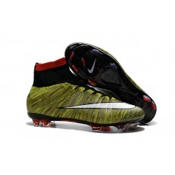 Nike Mercurial Superfly FG New Soccer Cleat Yellow White