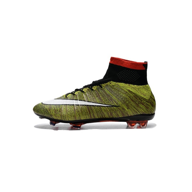 aa7e1471c522 Nike Mercurial Superfly FG New Soccer Cleat Yellow White