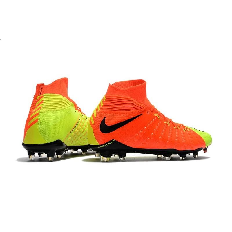 buy popular 875aa e21d0 New Flyknit Nike Hypervenom Phantom 3 DF FG Soccer Boot ...