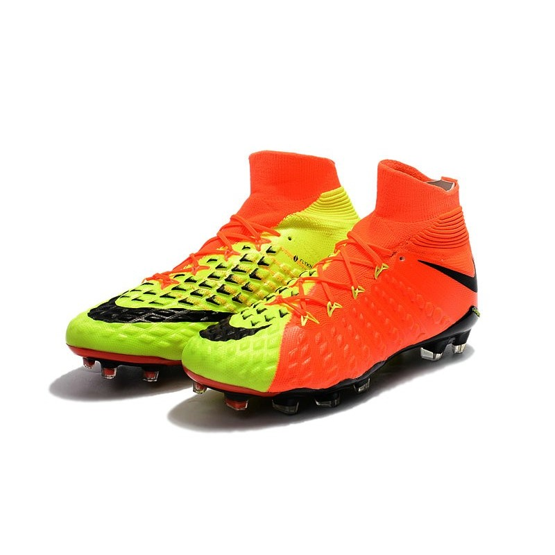 buy popular 1d432 3c041 New Flyknit Nike Hypervenom Phantom 3 DF FG Soccer Boot ...