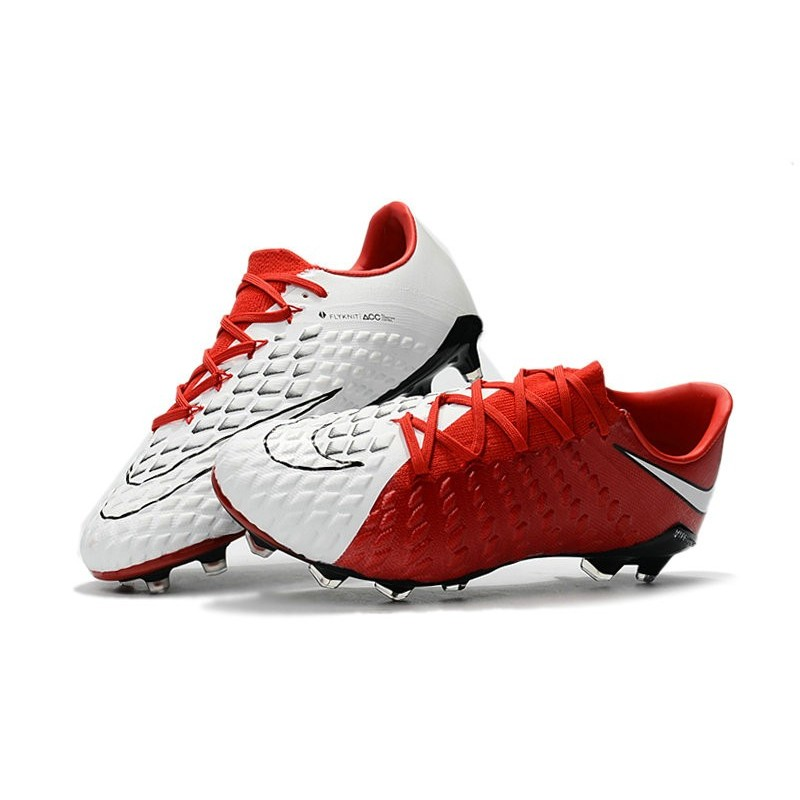 online store e6538 069c9 new zealand nike hypervenom phantom 3 fg low cut soccer cleat red white  bb96d ff104