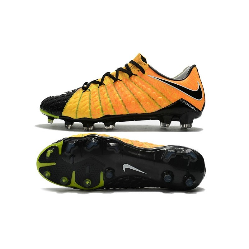 00a86635675c Nike Hypervenom Phantom 3 FG Low Cut Soccer Cleat Yellow Black Silver  Maximize. Previous. Next