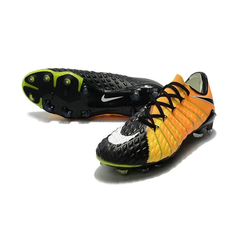 Nike Hypervenom Phantom 3 FG Low Cut Soccer Cleat Yellow ...