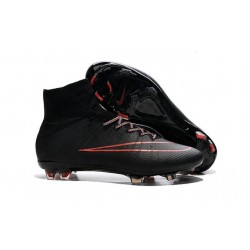 Nike Mercurial Superfly FG CR7 Ronaldo Football Boot Black Red