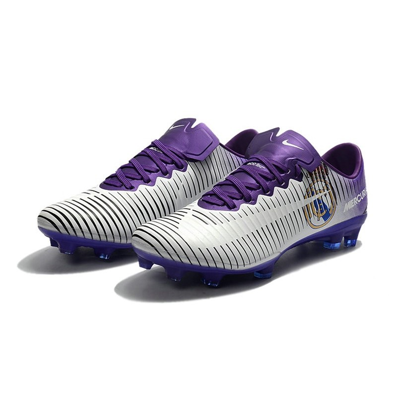 the best attitude 0a9b0 fb33f Nike Mercurial Vapor XI FG ACC Real Madrid White Purple Maximize. Previous.  Next